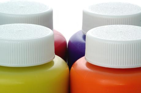 Mélanger des encres à l'eau pour sérigraphie aux formulations différentes