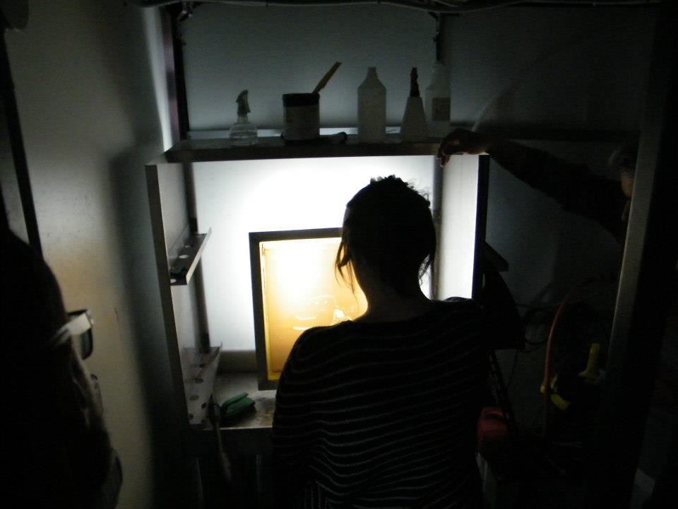 Nettoyage et récupération d'un écran de sérigraphie