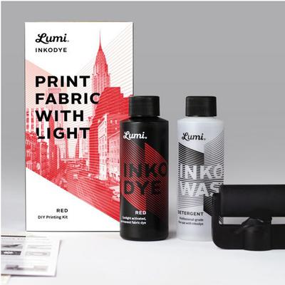 Lumi Inkodye. Les encres pour imprimer avec la lumière solaire