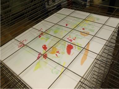 Encres à utiliser pour la sérigrahie sur papier