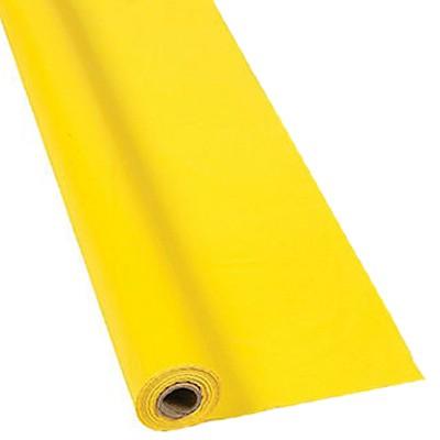 Écran avec toile jaune et temps d'insolation