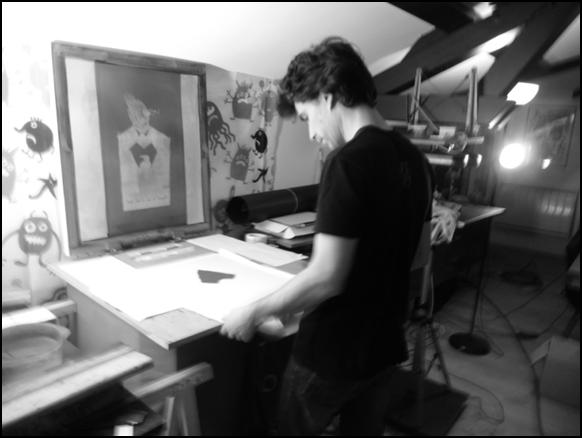 atelier collectif de sérigraphie à angoulême
