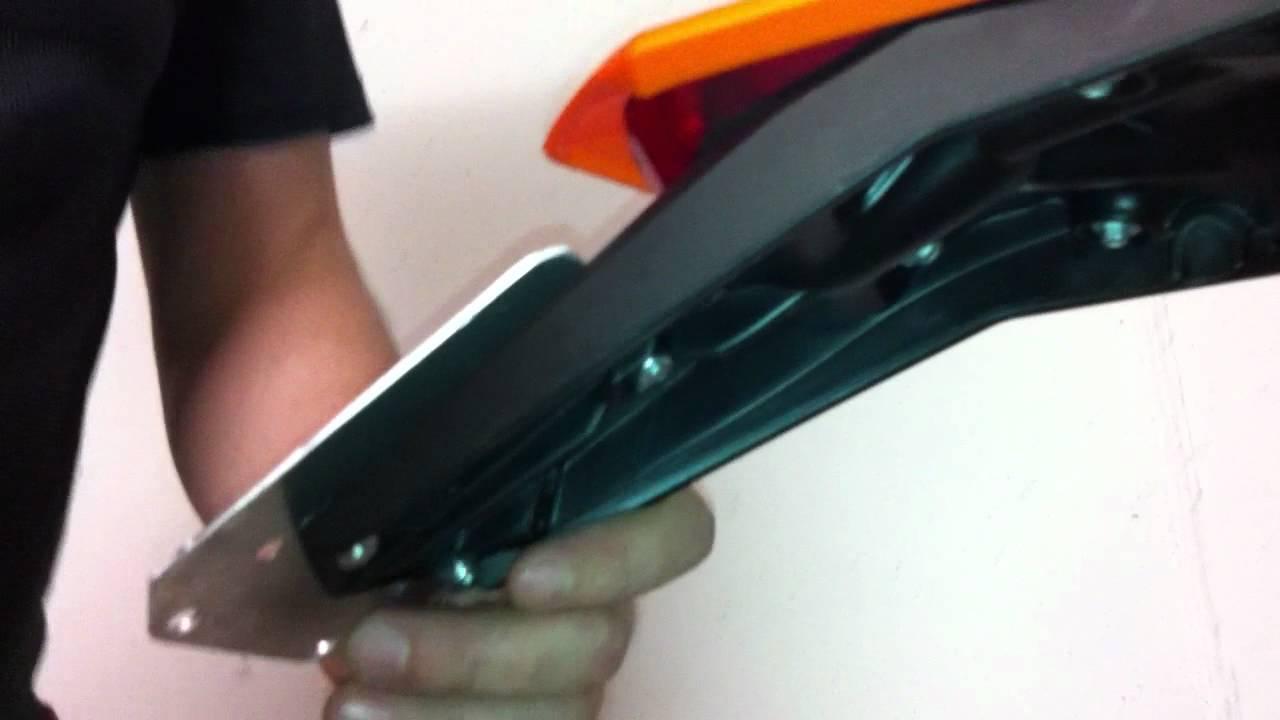 Comment personnaliser le support de plaque d'immatriculation en PVC de voiture et de moto