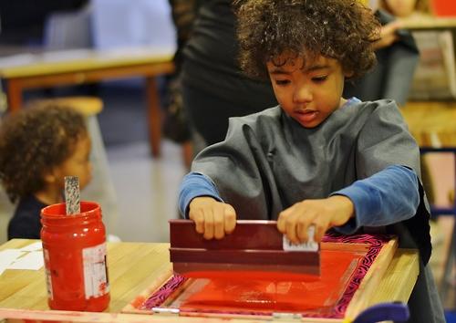 Solutions et conseils pour faire de la sérigraphie dans les écoles