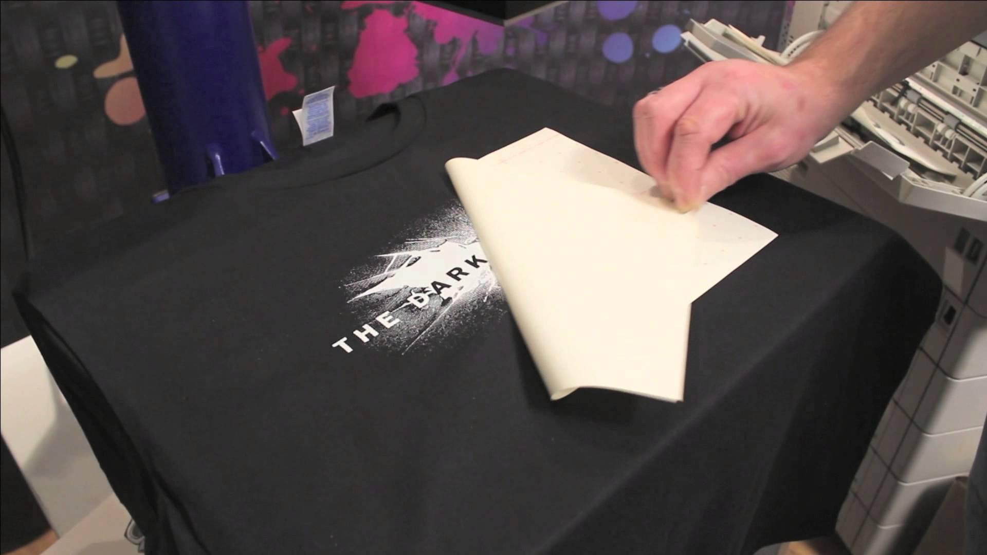 Transfert laser sur tee-shirt. Comment choisir l'imprimante et le papier adapté