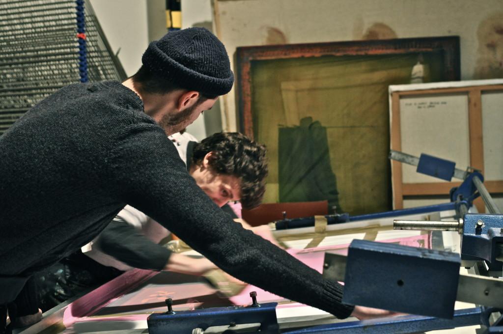 Mauvaise Foi atelier de sérigraphie Lyon