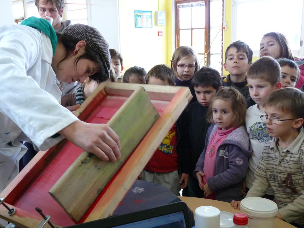 atelier emulsion sérigraphie