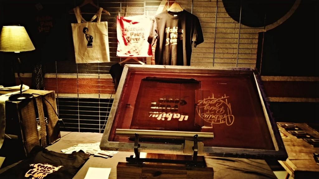 atelier emulsion sèrigraphie