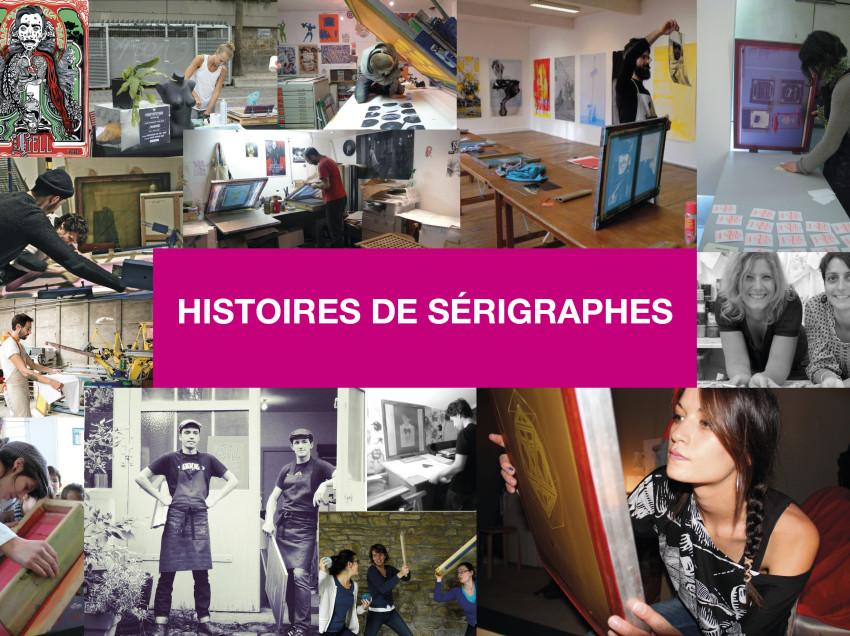 Un e-book avec nos histoires de sérigraphes français