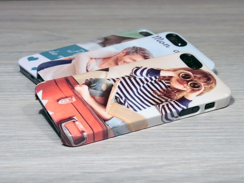 Personnaliser des coques de téléphone: comment imprimer sur toute la coque ou seulement à l'arrière