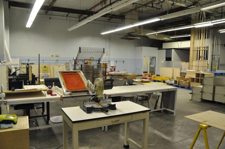 Le matériel adéquat niveau sécurité dans un labo de sérigraphie