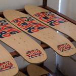 serigraphie skateboard