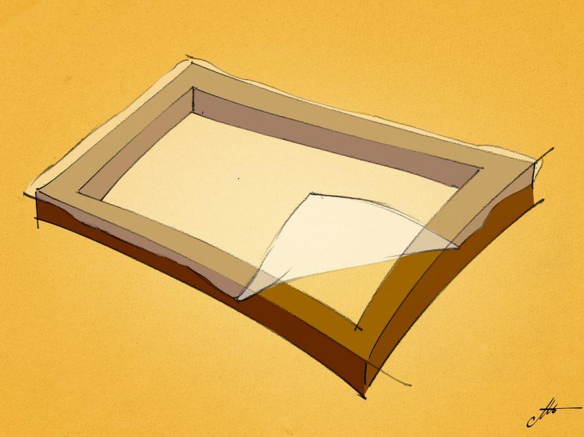 Comment fixer le tissu à l'écran de sérigraphie?