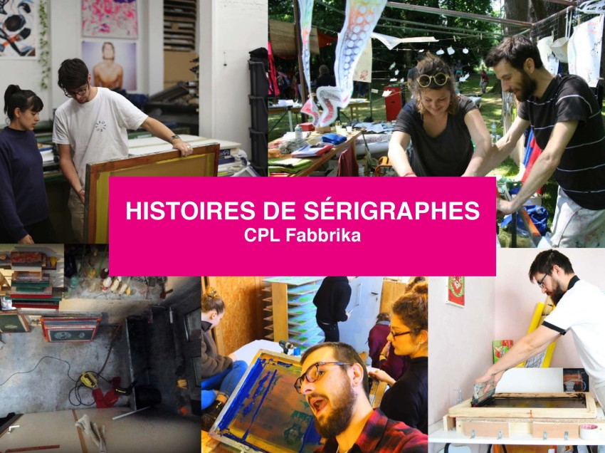 Nos interviews de l'année 2016 des sérigraphes français