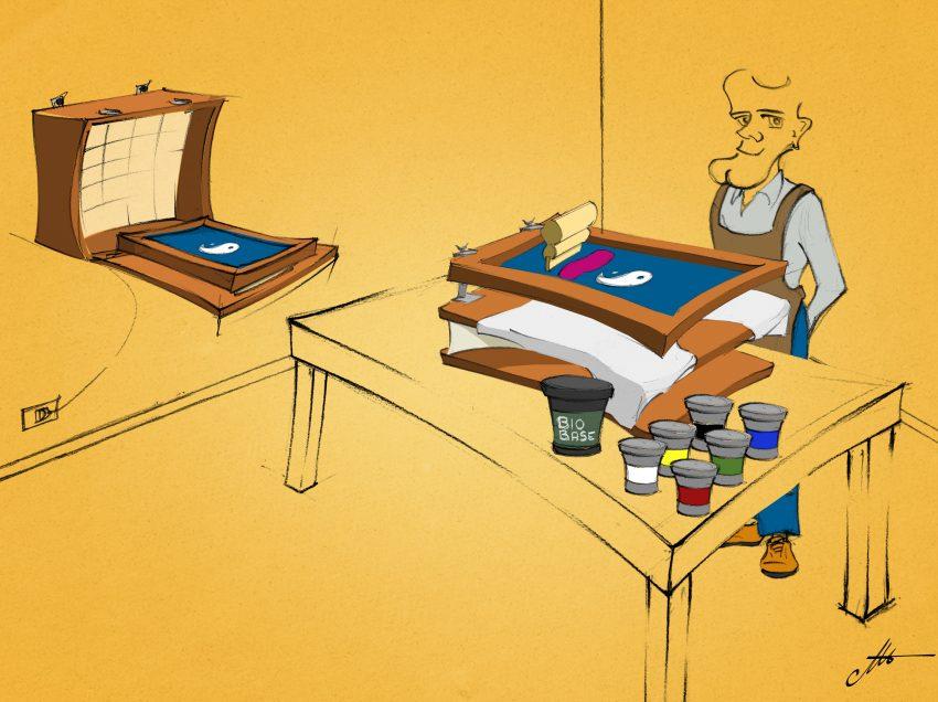 Créer un petit atelier de sérigraphie avec un espace et un budget limités