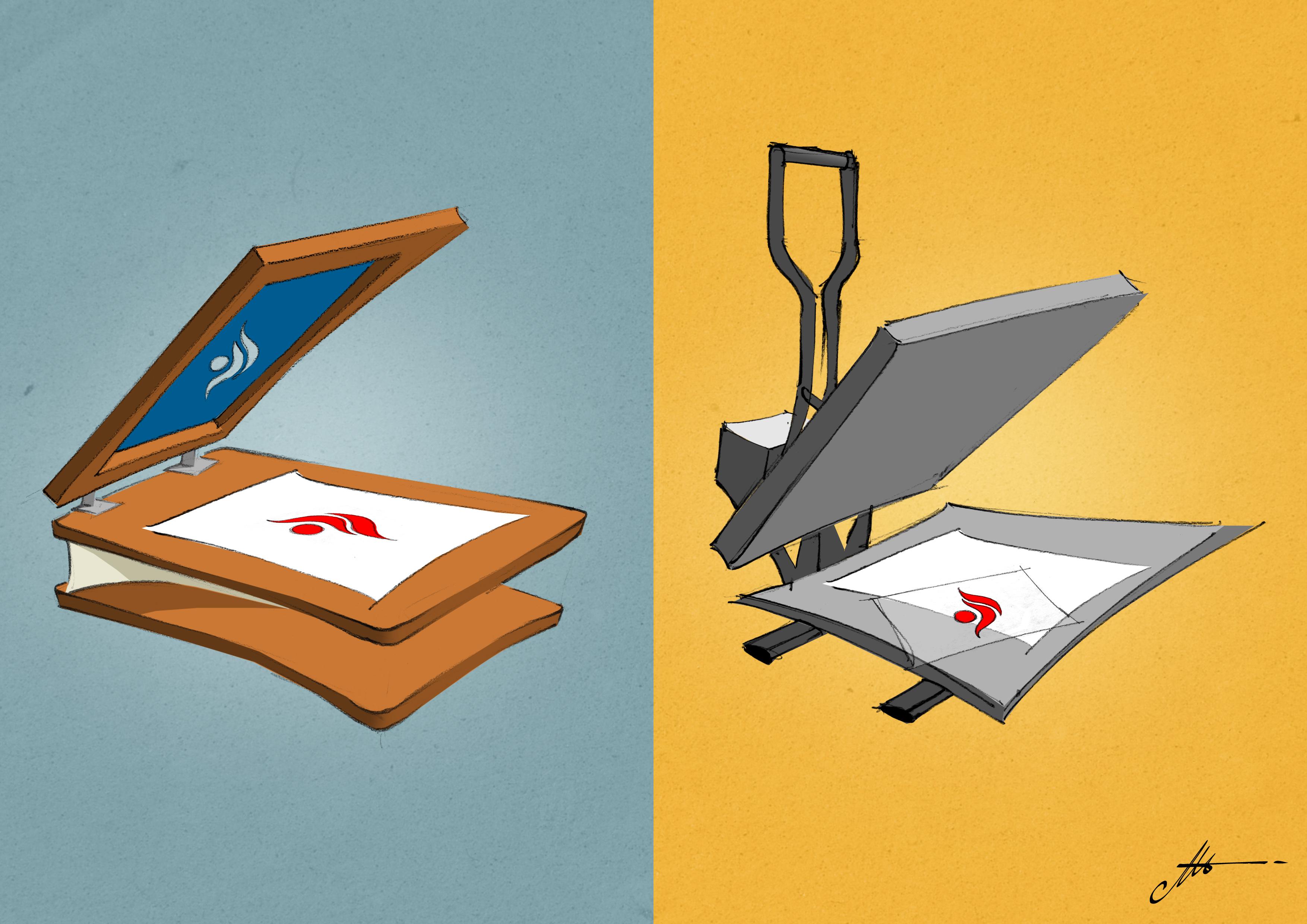 Impression sérigraphique ou numérique