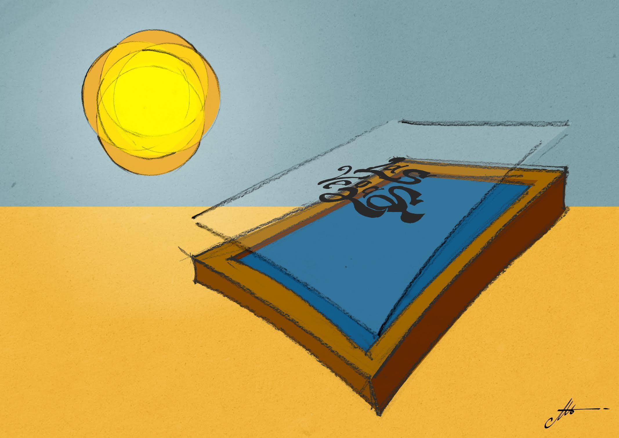 insoler les écrans avec la lumière du soleil