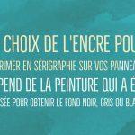 encre epoxery solvant serigraphie