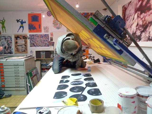 atelier de sèrigraphie la presse purée