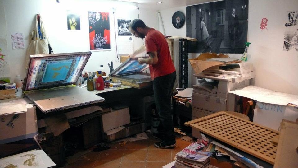 atelier de sérigraphie les presses ambulatoires