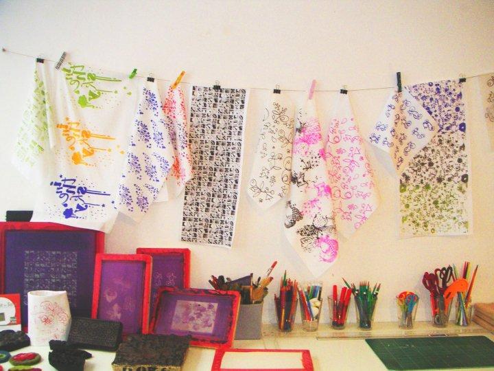 Atelier de sérigraphie Lyon