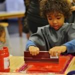comment faire de la sérigraphie dans l'école