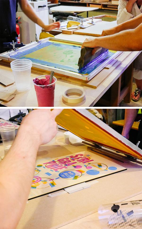 atelier fwells sérigraphie à Paris