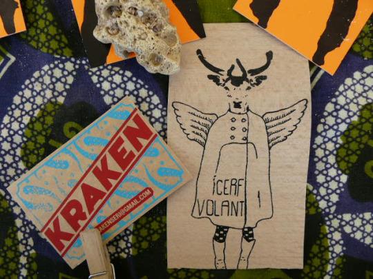 Kraken atelier de sérigraphie à Clisson