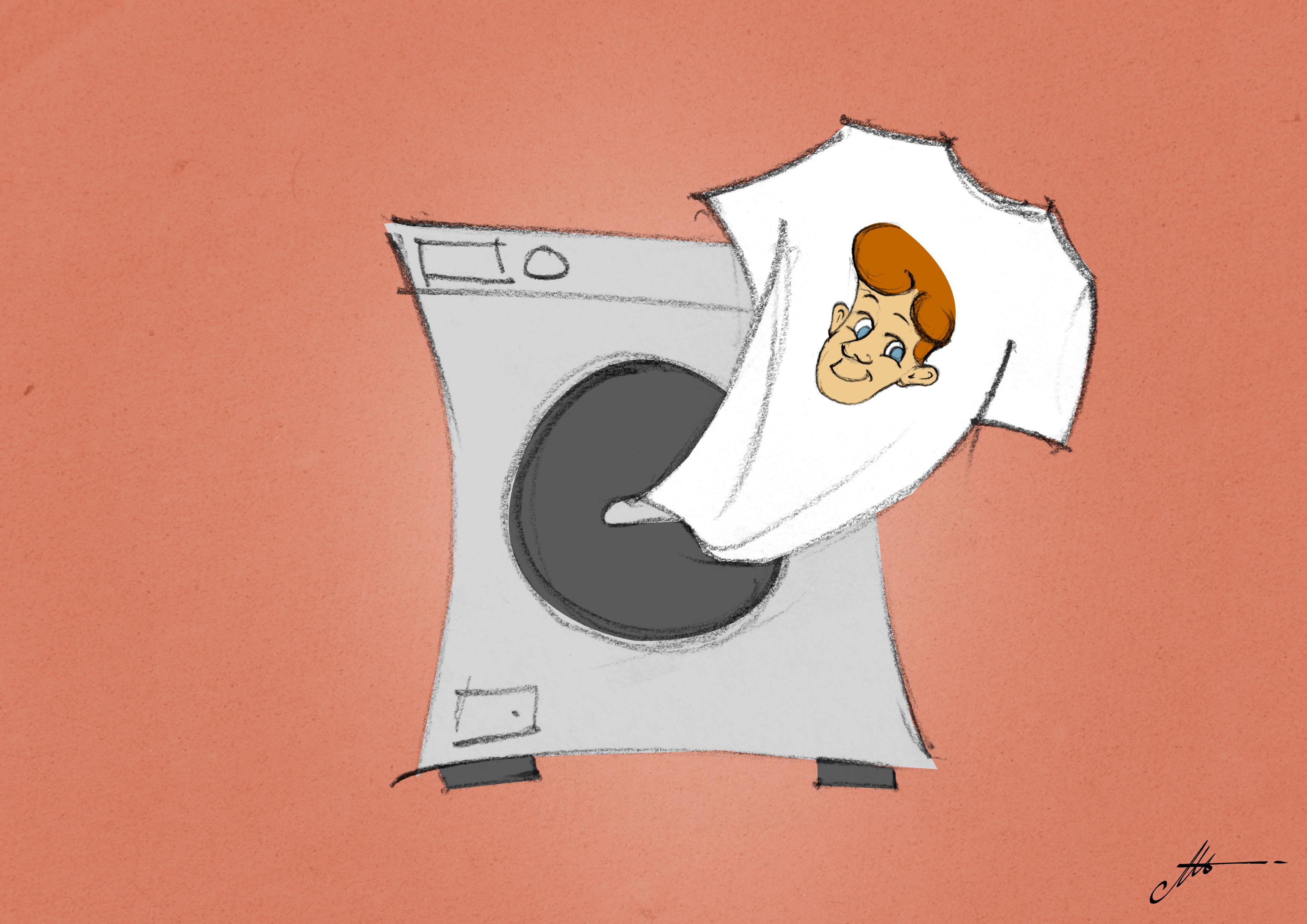inchiostri ad acqua lavaggio in lavatrice
