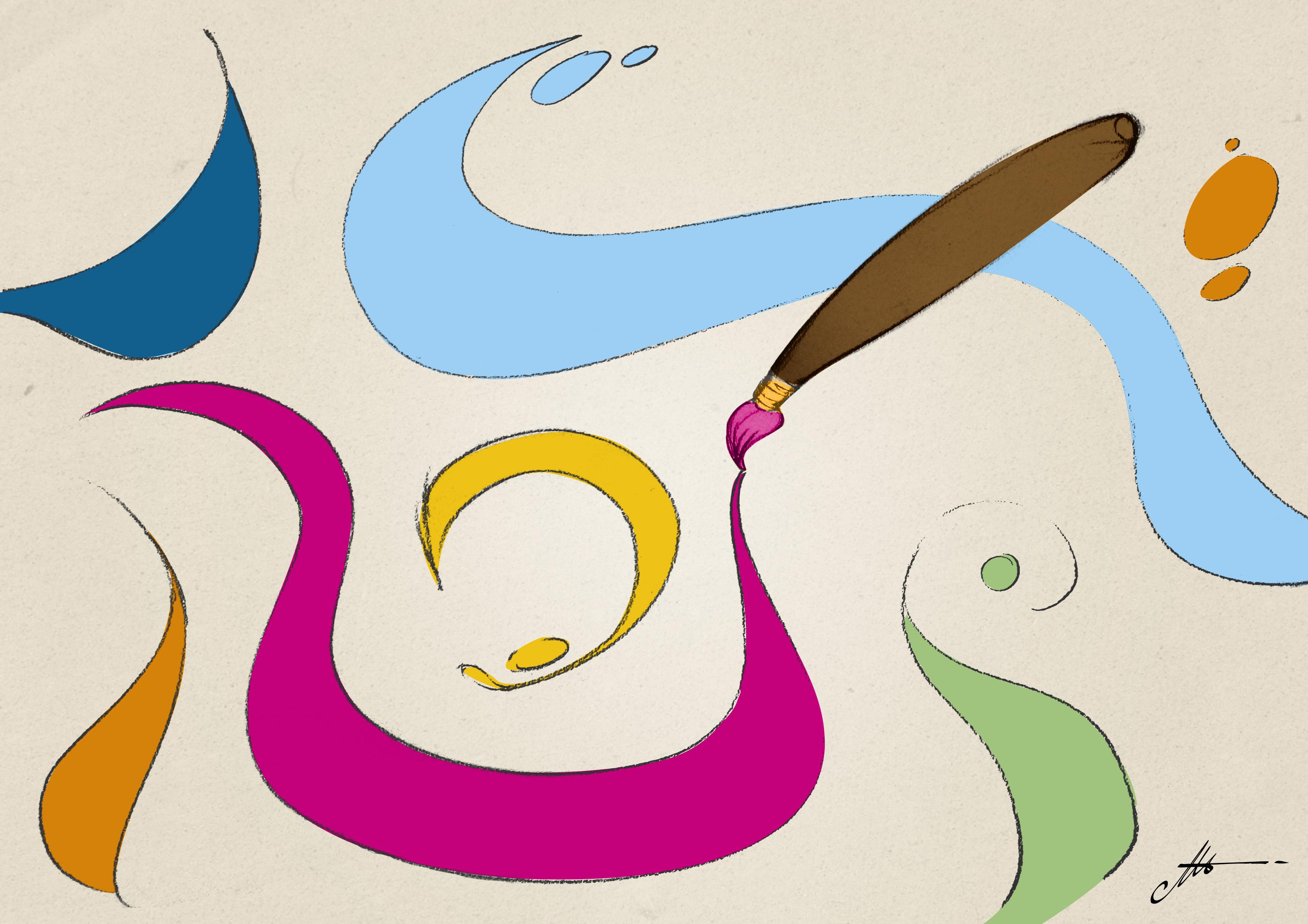 28 encres de sérigraphie peuvent-elles être utilisées pour peindre à la main sur du tissu ?
