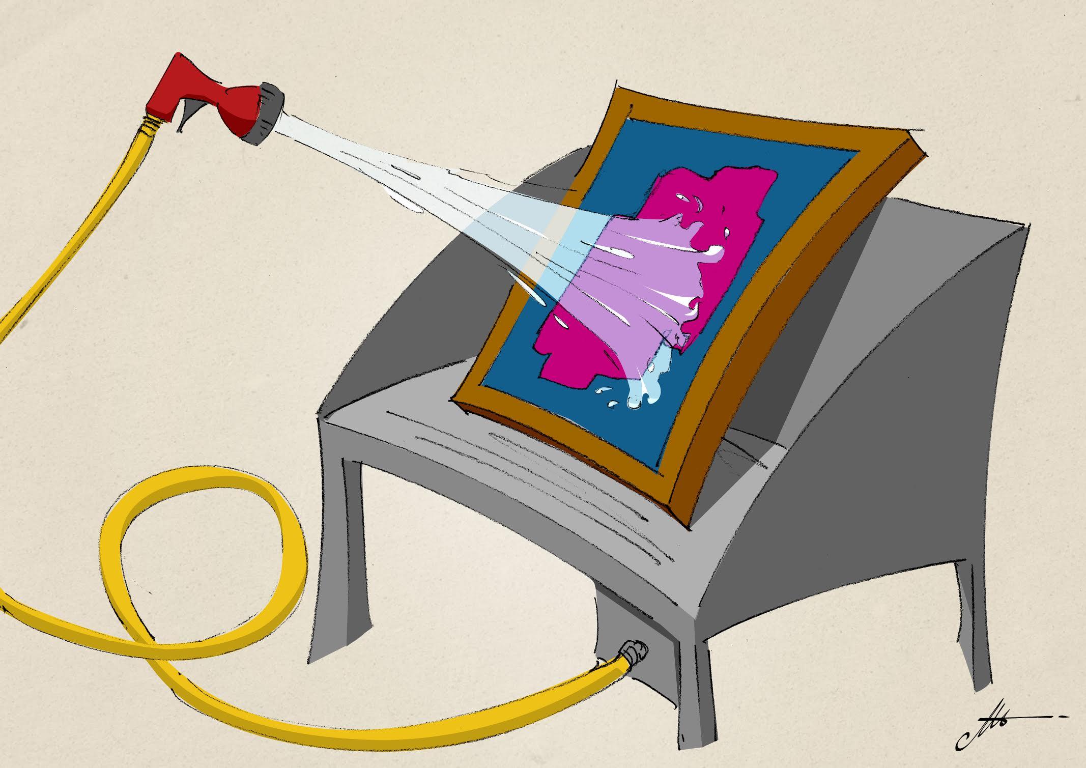 réglementation pour le lavage des écrans