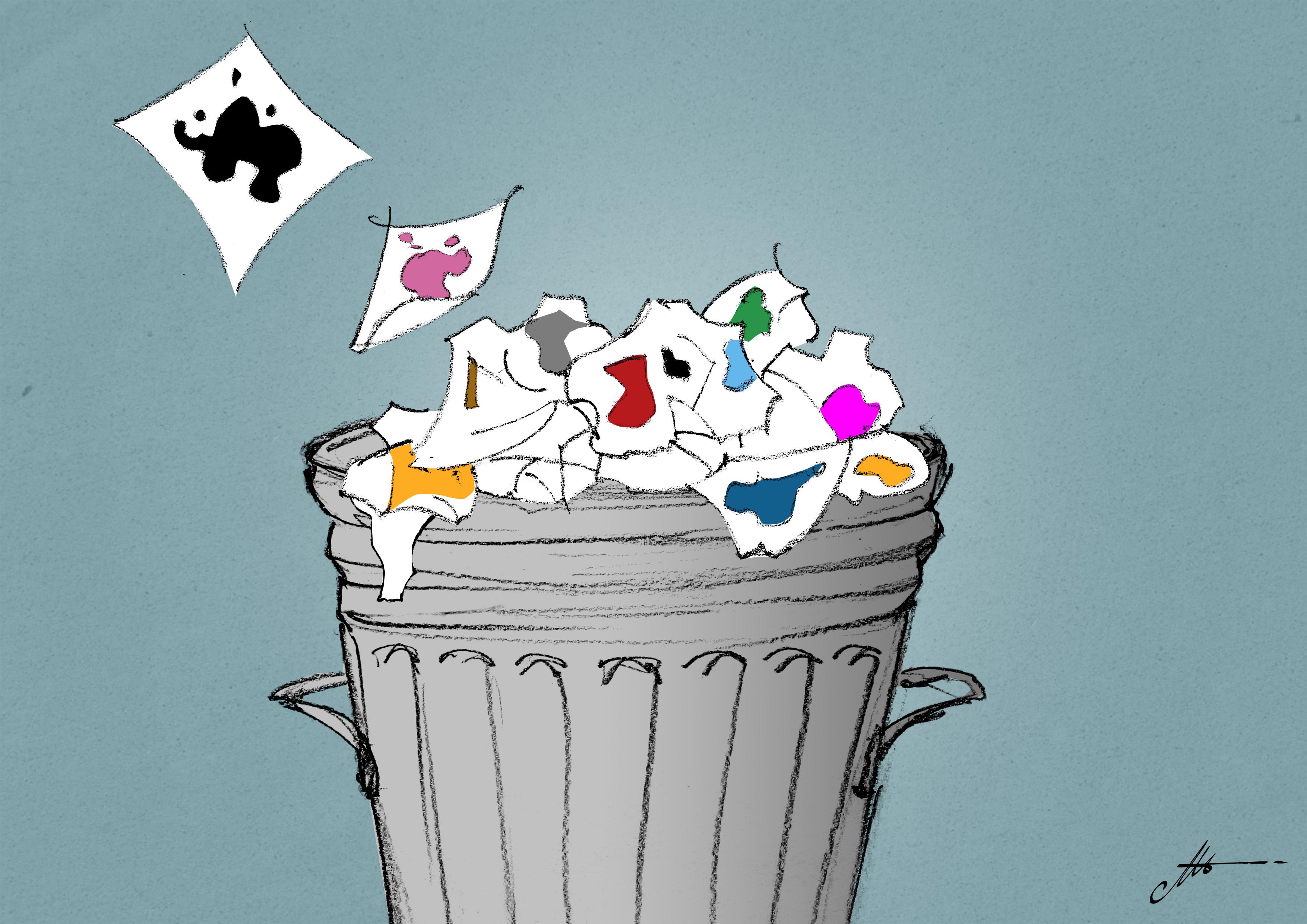 Comment éliminer le papier souillé d'encre de sérigraphie