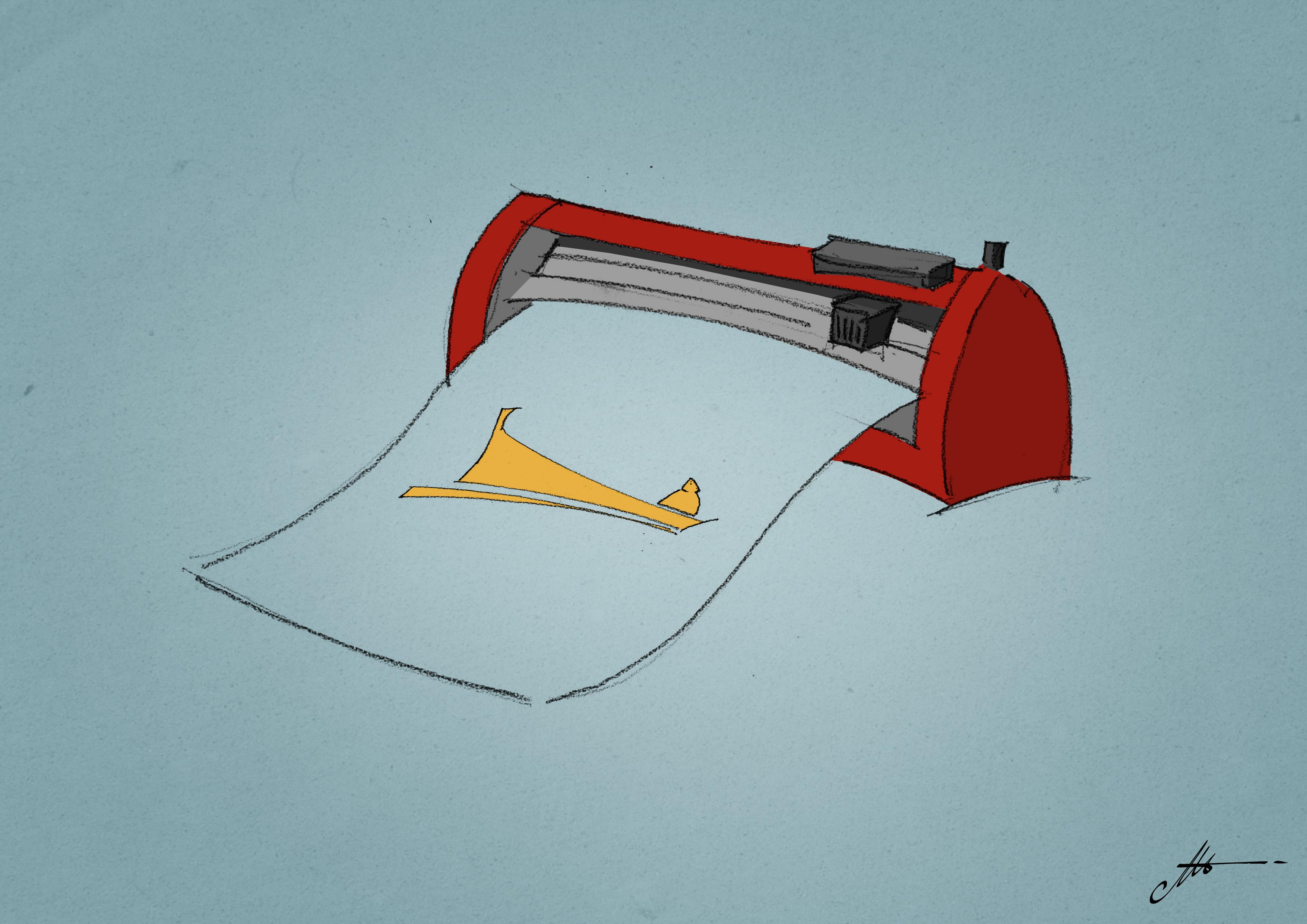 utilisation des plotters de découpe et des vinyles thermosoudables