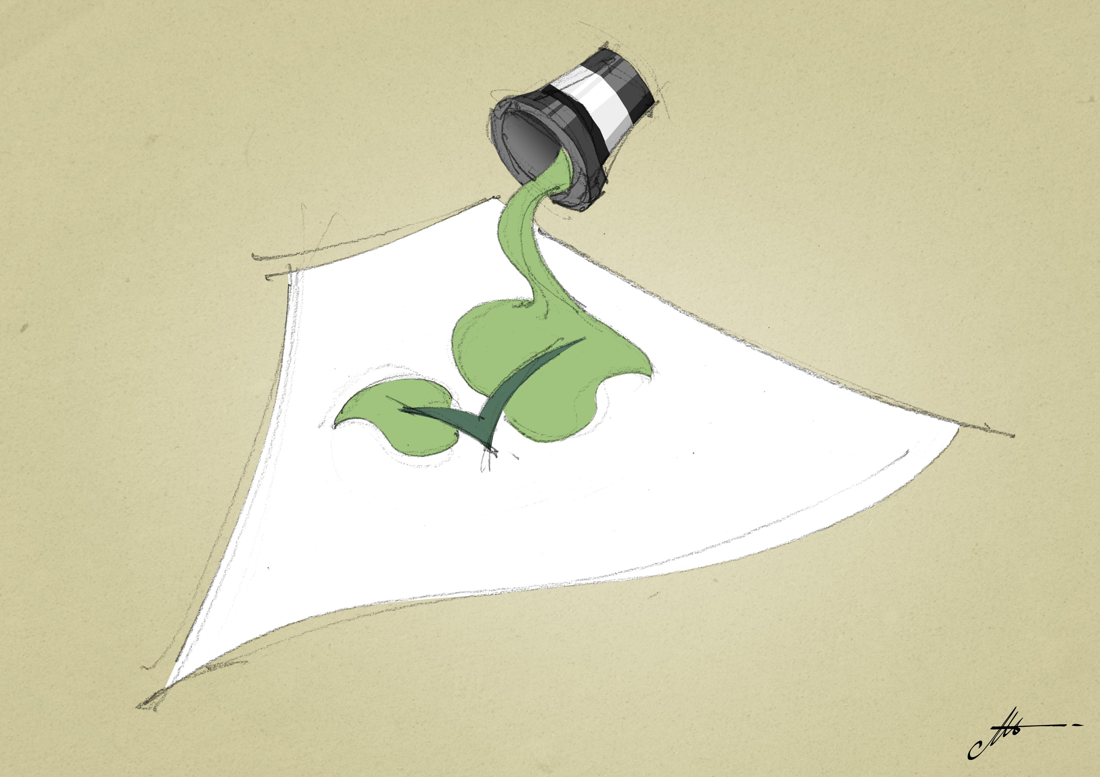 Comment imprimer sur papier avec des encres à l'eau et écologiques ?