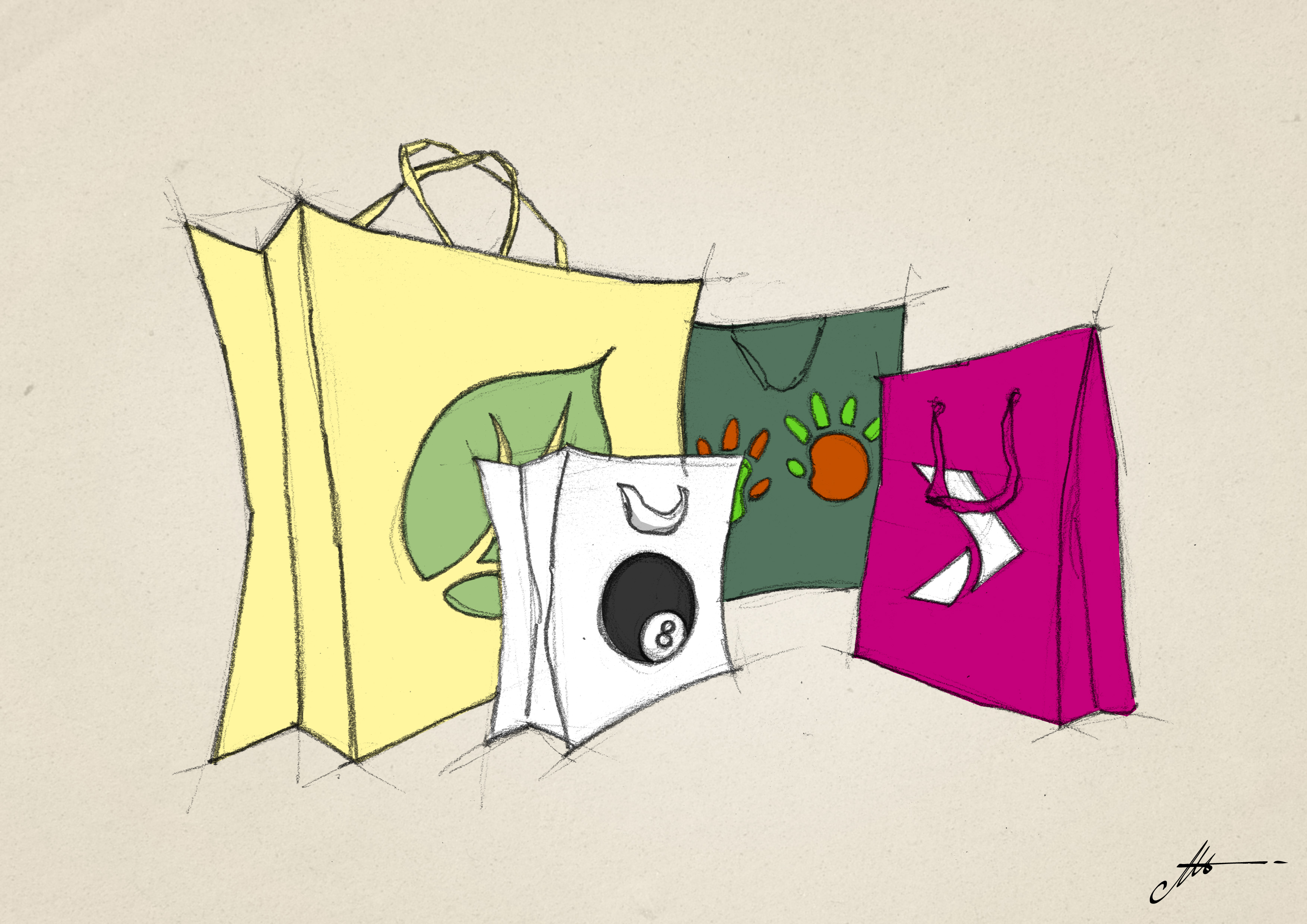 matériel nécessaire pour imprimer en sérigraphie sur des sacs shoppers