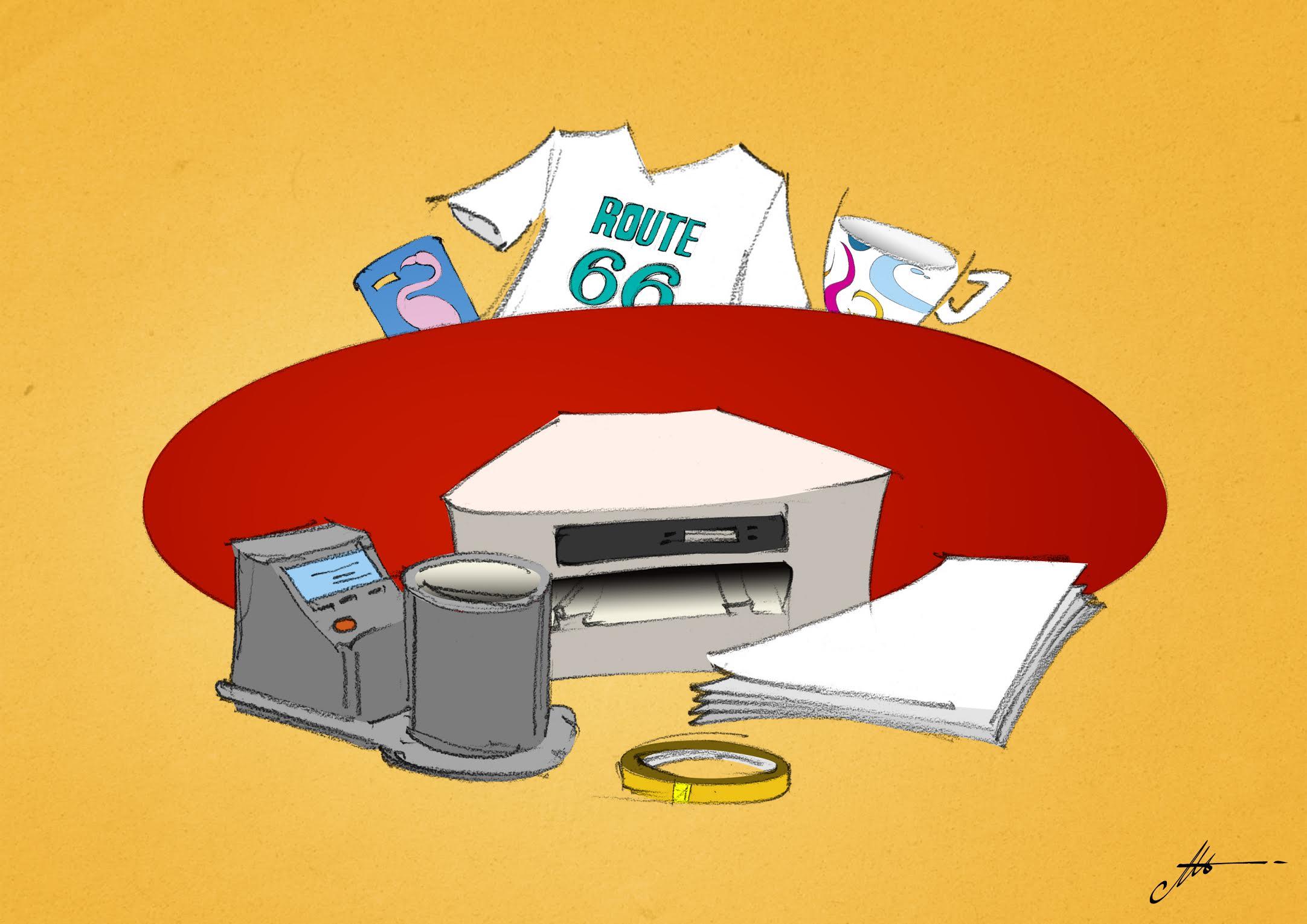 problèmes avec les imprimantes à sublimation